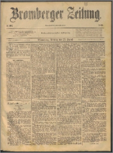 Bromberger Zeitung, 1890, nr 197