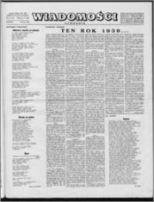 Wiadomości, R. 10 nr 11 (467), 1955
