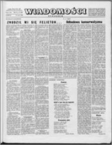 Wiadomości, R. 10 nr 13 (469), 1955