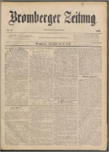 Bromberger Zeitung, 1891, nr 84