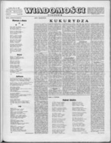 Wiadomości, R. 10 nr 18 (474), 1955