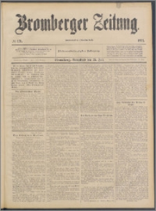 Bromberger Zeitung, 1891, nr 171