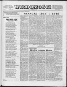 Wiadomości, R. 10 nr 20 (476), 1955