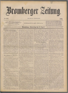 Bromberger Zeitung, 1891, nr 181