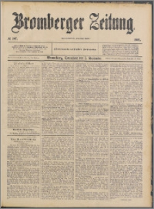 Bromberger Zeitung, 1891, nr 207