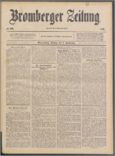 Bromberger Zeitung, 1891, nr 208