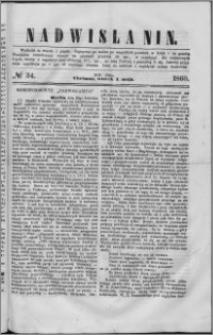 Nadwiślanin, 1860.05.01 R. 11 nr 34