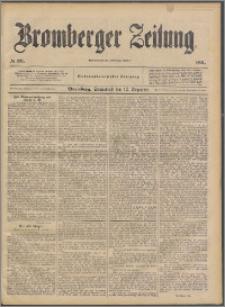 Bromberger Zeitung, 1891, nr 291