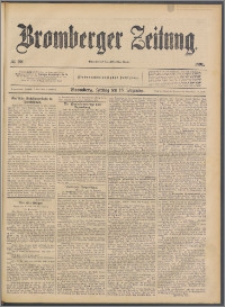 Bromberger Zeitung, 1891, nr 296