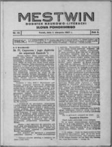 Mestwin, R. 3 nr 10, (1927)