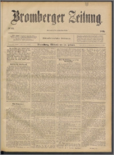 Bromberger Zeitung, 1892, nr 46