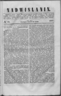 Nadwiślanin, 1860.05.22 R. 11 nr 40