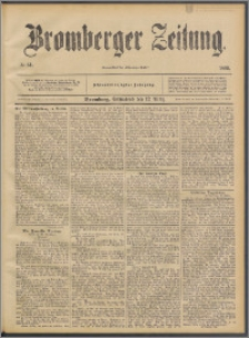 Bromberger Zeitung, 1892, nr 61