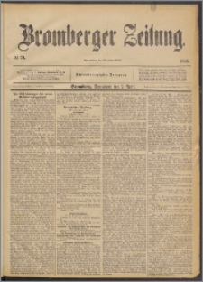 Bromberger Zeitung, 1892, nr 79