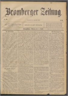 Bromberger Zeitung, 1892, nr 80