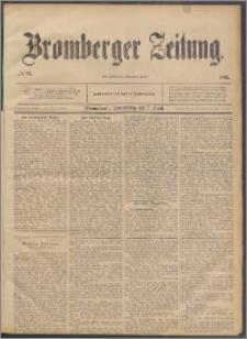Bromberger Zeitung, 1892, nr 83