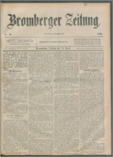 Bromberger Zeitung, 1892, nr 96