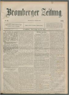 Bromberger Zeitung, 1892, nr 99