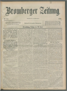 Bromberger Zeitung, 1892, nr 100