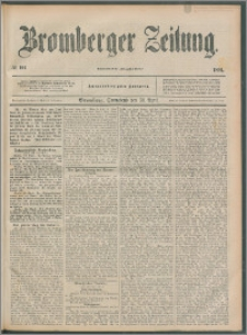 Bromberger Zeitung, 1892, nr 101