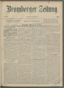 Bromberger Zeitung, 1892, nr 115