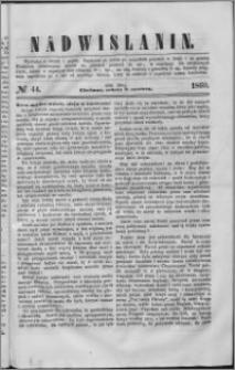 Nadwiślanin, 1860.06.09 R. 11 nr 44