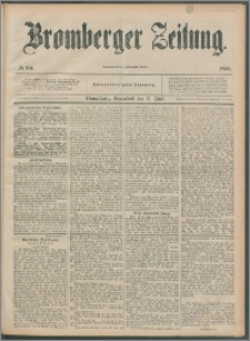 Bromberger Zeitung, 1892, nr 134