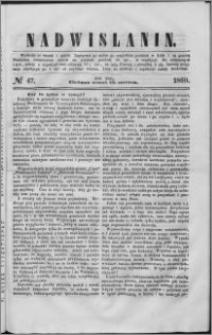 Nadwiślanin, 1860.06.19 R. 11 nr 47