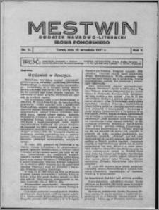 Mestwin, R. 3 nr 11, (1927)