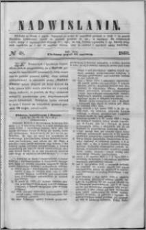 Nadwiślanin, 1860.06.22 R. 11 nr 48