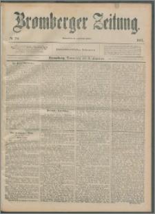 Bromberger Zeitung, 1892, nr 287