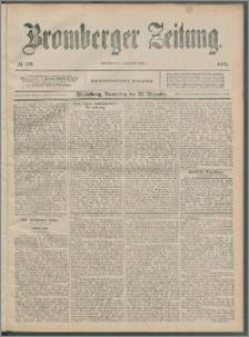 Bromberger Zeitung, 1892, nr 299