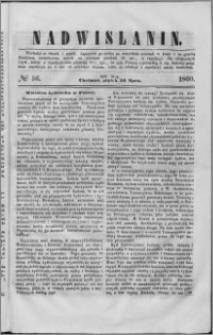 Nadwiślanin, 1860.07.20 R. 11 nr 56