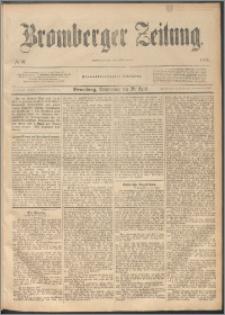 Bromberger Zeitung, 1893, nr 92