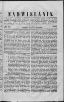 Nadwiślanin, 1860.08.07 R. 11 nr 61