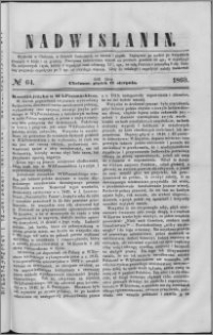 Nadwiślanin, 1860.08.17 R. 11 nr 64