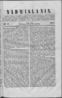 Nadwiślanin, 1860.08.28 R. 11 nr 67