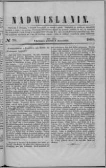 Nadwiślanin, 1860.09.07 R. 11 nr 70