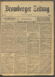 Bromberger Zeitung, 1894, nr 89