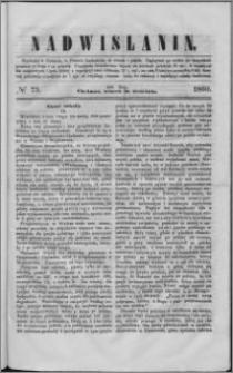 Nadwiślanin, 1860.09.18 R. 11 nr 73