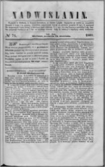 Nadwiślanin, 1860.09.23 R. 11 nr 74