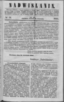 Nadwiślanin, 1860.09.25 R. 11 nr 75