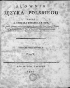 Słownik języka polskiego. T. 3: R-T