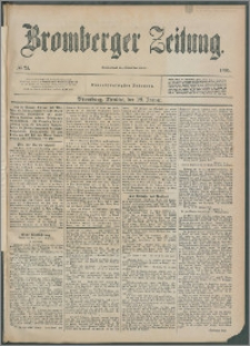 Bromberger Zeitung, 1895, nr 24