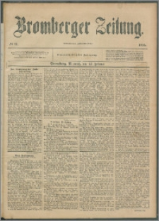 Bromberger Zeitung, 1895, nr 37