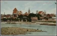 Toruń - widok od strony Wisły - Thorn. Totalansicht von der Weichsel aus
