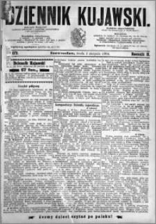 Dziennik Kujawski 1894.08.01 R.2 nr 172