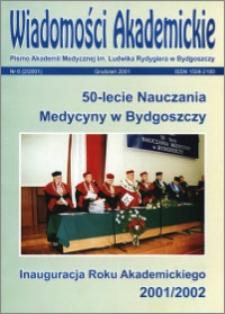 Wiadomości Akademickie 2001 nr 6