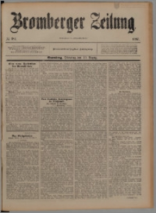 Bromberger Zeitung, 1897, nr 185