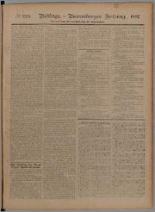 Bromberger Zeitung, 1897, nr 225